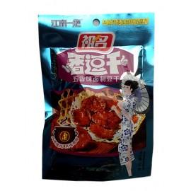 (卖光啦)祖名卤豆腐干豆干 五香味 100G