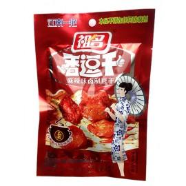 (卖光啦)祖名卤豆腐干豆干 麻辣味 100G
