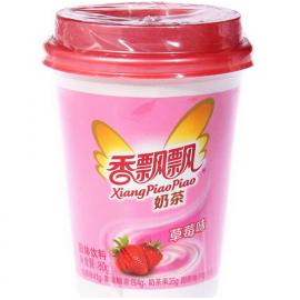 香飘飘经典系奶茶 草莓味 80G
