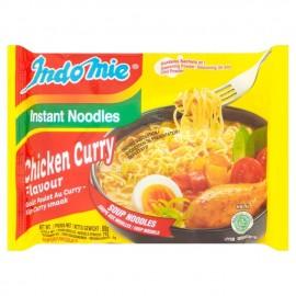 全球排名第三印尼INDOMIE营多捞面 咖喱鸡味 80G
