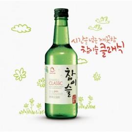 韩国销量第一 JINRO 真露烧酒 经典装 浓香型 20.1 度 360ML
