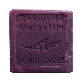 SAVON DE MARSEILLE 30G-POMME CASSIS