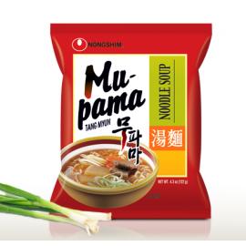 韩国农心 蒜香多种蔬菜汤面  122G