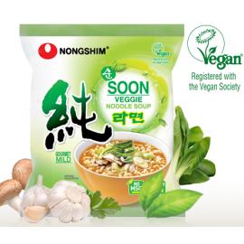 韩国原产农心 纯素蔬菜拉面 112G