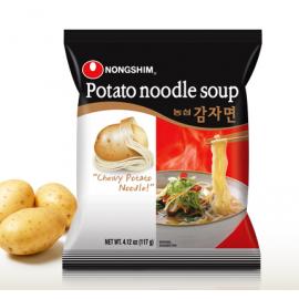 (卖光啦)韩国原产热销农心土豆蔬菜拉面 100G/POTATO RAMEN