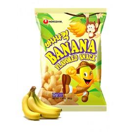 (卖光啦)韩国农心 栗米条 香蕉味 45G