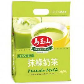 马玉山台湾原产热销 抹绿奶茶 16G*20