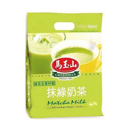 台湾原产热销 抹绿奶茶 16G*20