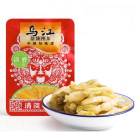 买十赠一  乌江涪陵榨菜丝  清香  80G (共11包)