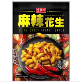 台湾热销盛香珍 麻辣花生 80G