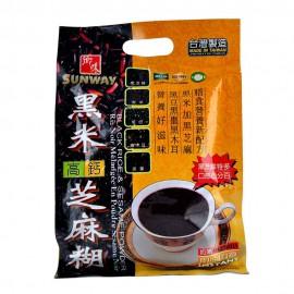 (卖光啦)台湾原产乡味黑米高钙黑芝麻糊 32G*12包