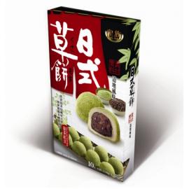 (卖光啦)台湾皇族  日式草饼  抹茶红豆味 150G