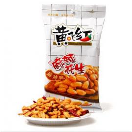 (卖光啦)黄飞红 麻辣花生 70G