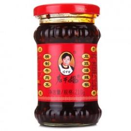 老干妈  精制牛肉末  豆豉油辣椒  210G