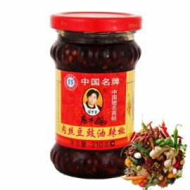 老干妈 鲜肉丝 豆豉油辣椒 280G