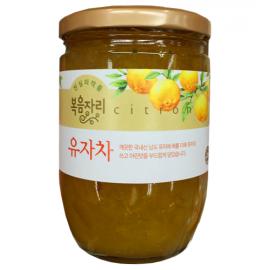 韩国清净园   蜂蜜柚子茶  620G