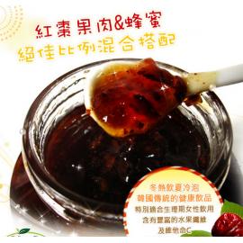 韩国清净园  蜂蜜红枣茶  590G