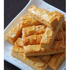 (卖光啦)十月初五麦酥杏仁条 80G