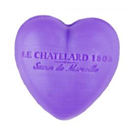 Le Chatelard 1802普罗旺斯马赛心型皂 薰衣草 30G
