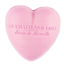 Le Chatelard 1802普罗旺斯马赛心型皂-牡丹玫瑰30G