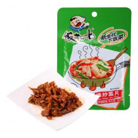 (买5赠1) 饭扫光  爆炒菌片  60G
