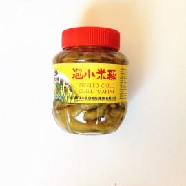 (卖光啦)鱼泉牌  泡小米辣  辣椒 450G