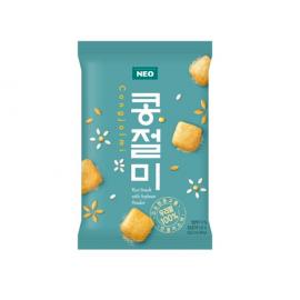 韩国原产热销SAMJIN 自由畅想香脆米果粒年糕 60G/RICE CRACKER-GLUTEN FREE