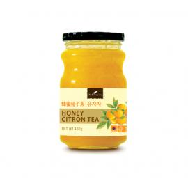 (卖光啦)韩国原产NOKCHAWON  绿茶园蜂蜜柚子茶 480G
