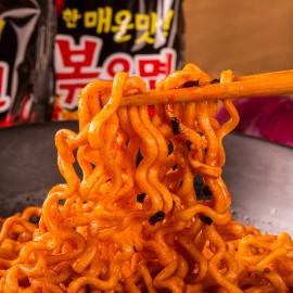 韩国原产三养 SAMYANG 特辣火鸡面 炒面 五连包5*140G/HOT CHICKEN RAMEN-MULTI