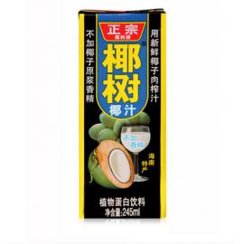 椰树椰汁 盒装 245ML
