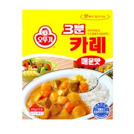 (卖光啦)韩国原产热销OTTOGI 不倒翁咖喱 辣味 200G