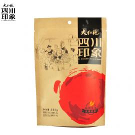 大红袍 好人家四川印象 精品高端  麻辣牛油火锅底料  220G