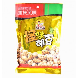 (卖光啦)重庆风味 芝麻官 怪味胡豆 原味 120G