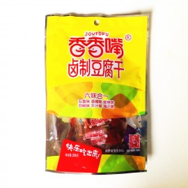 香香嘴卤制豆腐干  六味合一  206G