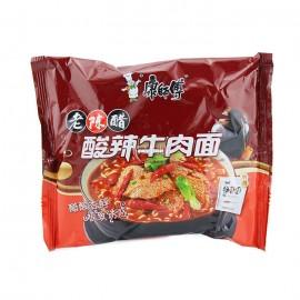 (卖光啦)康师傅老陈醋 酸辣牛肉面 108G