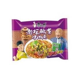 康师傅 老坛酸菜牛肉面 114G