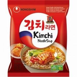 买十赠一 韩国农心 KimChi辣白菜拉面120G(共11袋)