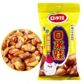 (卖光啦)口水娃香脆兰花豆 蚕豆  酱汁牛肉味 86G