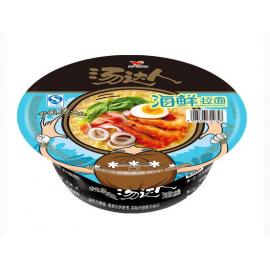 (卖光啦)统一汤达人方便面  海鲜拉面  大碗装  110G