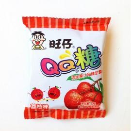 (卖光啦)旺旺 旺仔QQ糖 荔枝味23G