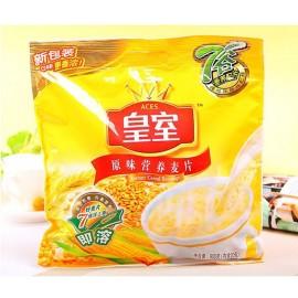 (卖光啦)皇室 原味营养麦片 即溶 家庭装 600G