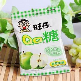 旺旺 旺仔QQ糖 青苹果25G