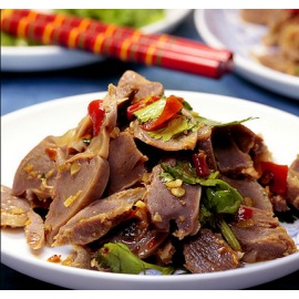 (卖光啦)美味卤食 卤味 藤桥熏鸡胗 即食100G