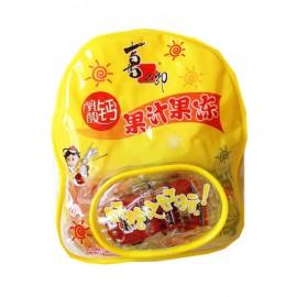 喜之郎 小书包 乳酸钙 果汁果冻 内含小汽车玩具 600G