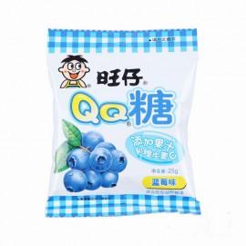 (卖光啦)旺旺 旺仔QQ糖 蓝莓25G