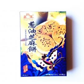 美蝶 港澳口味 葱油芝麻饼 300G