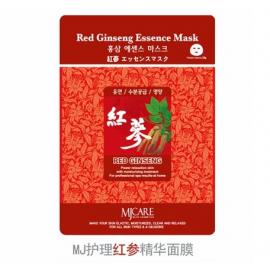 韩国原产 MJCARE 红参 精华面膜 独立一片装 23G