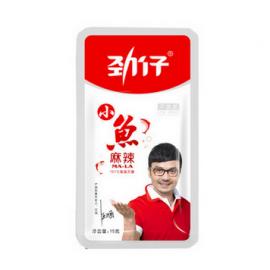 (卖光啦)邓伦代言 劲仔小鱼仔 毛毛鱼干 麻辣味 12G