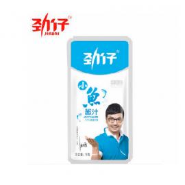 汪涵代言 劲仔小鱼仔 毛毛鱼干 酱汁味 15G