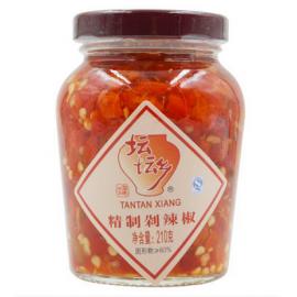 (卖光啦)珍品湘味 坛坛乡精制剁辣椒  210G